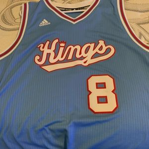 Throwback Adidas Rudy Gay Kings Jersey